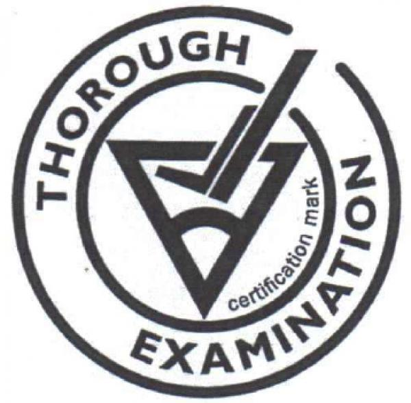 LOLER - Thorough Examination