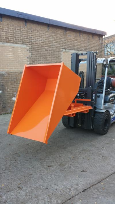 Fork Lift Tipping Skip