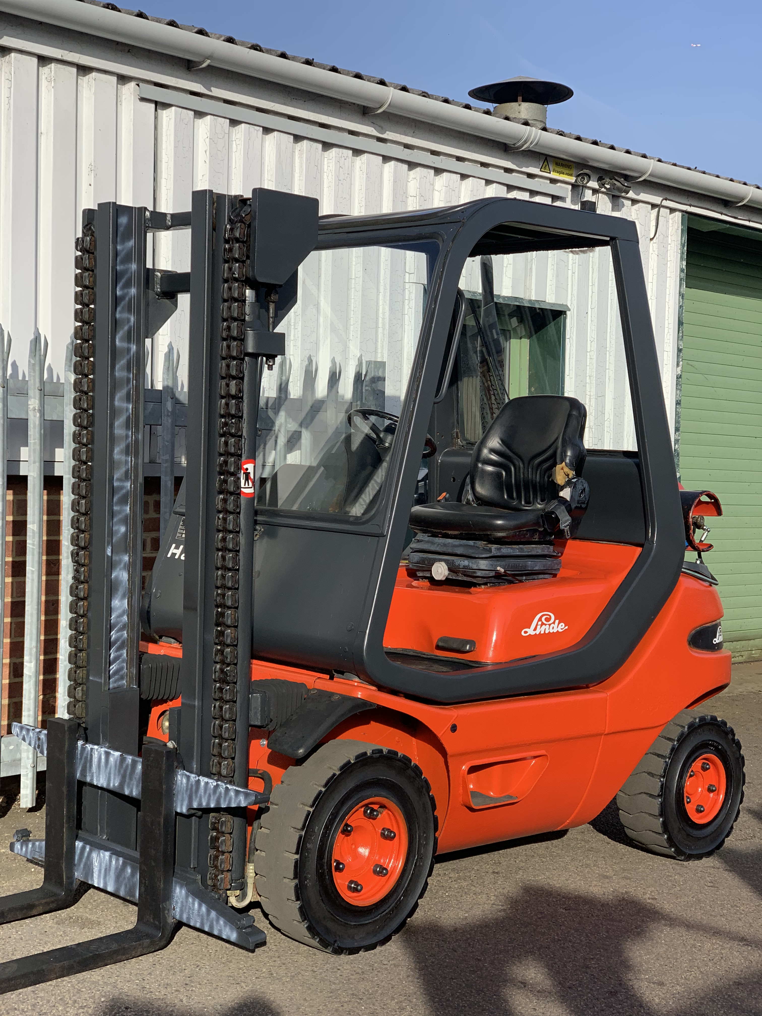 Coming soon - Linde H25T
