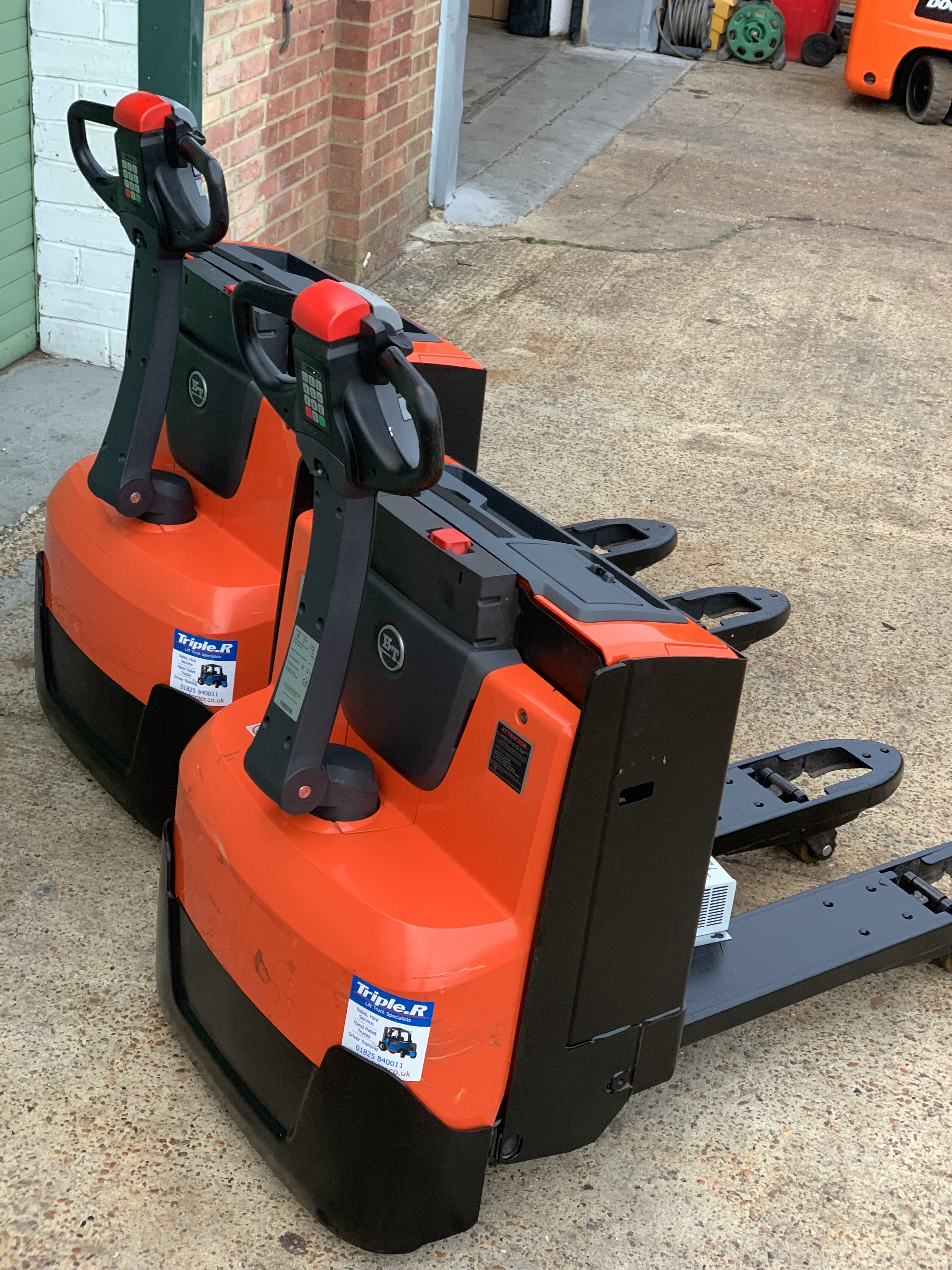 BT / Toyota Electric Pallet Trucks