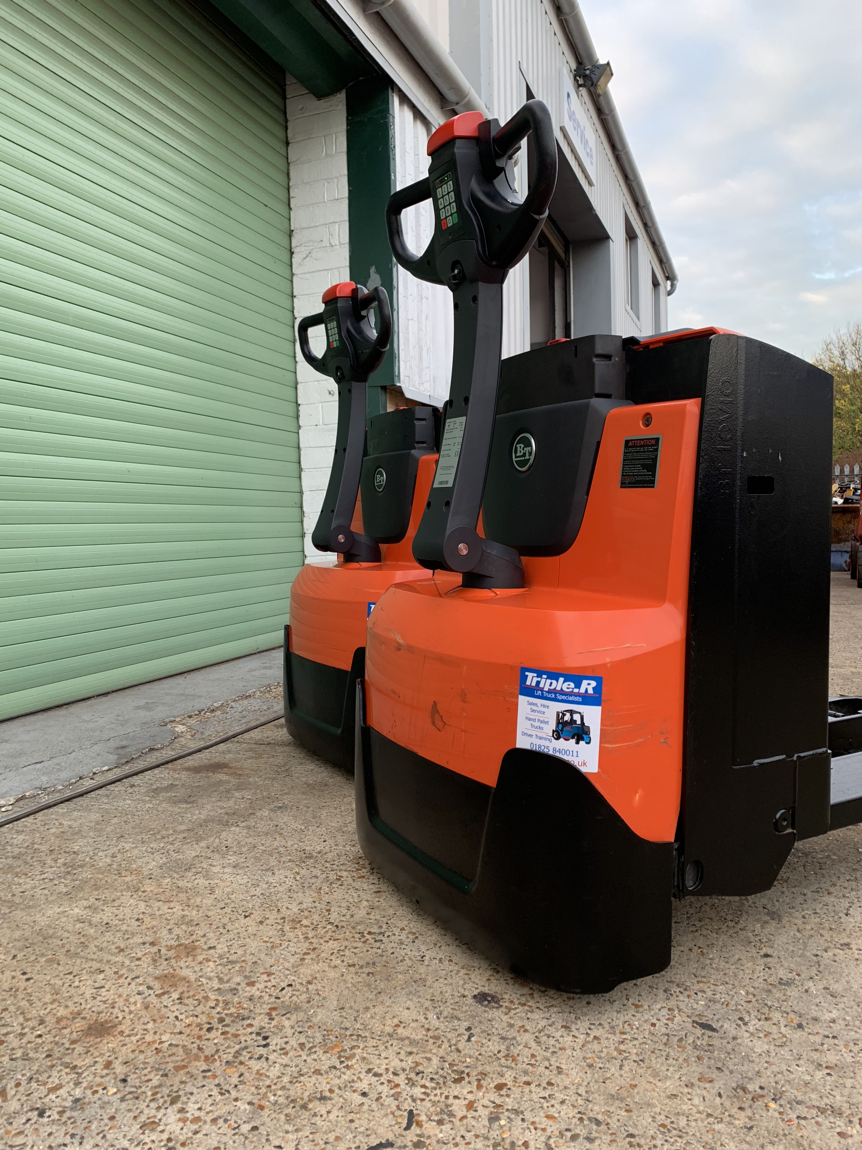BT / Toyota Electric Stacker